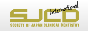 SJCD SOCIETY OF JAPAN CLINICAL DENTISTRY INTERNATIONAL